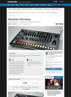 MusicRadar.com Roland Aira TR-8