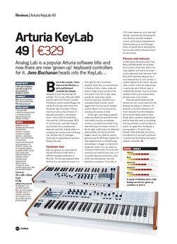 Future Music Arturia KeyLab 49