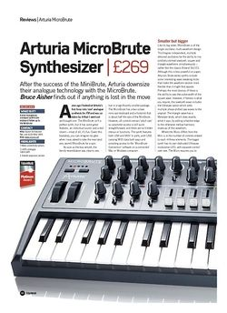 Future Music Arturia MicroBrute Synthesizer
