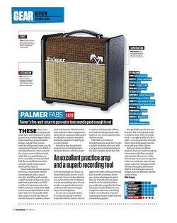 Total Guitar Palmer FAB5