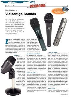 DrumHeads MXL Mikrofone