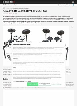 Bonedo.de Roland TD11K und TD11KV