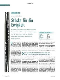 Soundcheck TI5B Titan Sticks