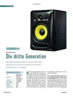 Soundcheck KRK RP8 Rokit G3