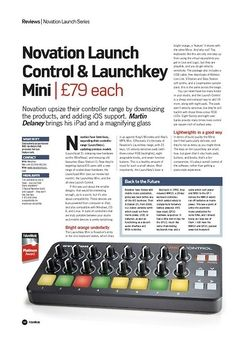 Future Music Novation Launch Control & Launchkey Mini