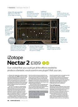 Computer Music iZotope Nectar 2