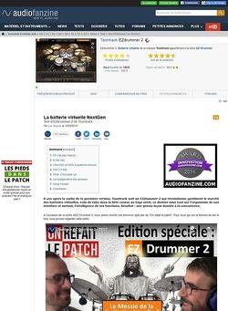 Audiofanzine.com Toontrack EZ Drummer