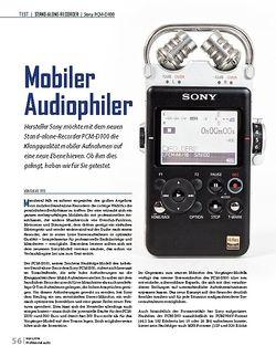 Professional Audio Mobiler Audiophiler