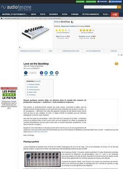 Audiofanzine.com Arturia BeatStep
