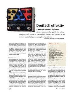 Gitarre & Bass Electro-Harmonix Epitome, Multi-FX
