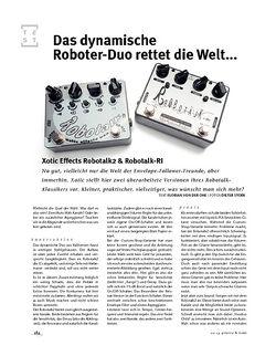 Gitarre & Bass Xotic Effects Robotalk2 & Robotalk-RI, FX-Pedale