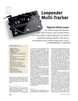 Gitarre & Bass Pigtronix Infinity Looper, Effekt-Pedal