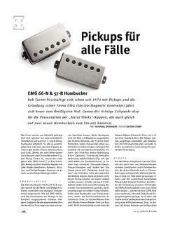 Gitarre & Bass EMG 66-N & 57-B Humbucker