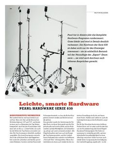 Sticks Pearl Hardware Serie 830