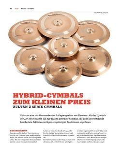 Sticks Zultan Z Cymbals