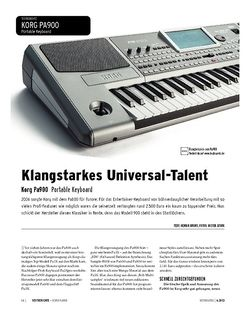 Keyboards Korg Pa900 - Arranger Workstation