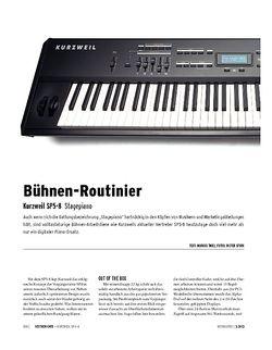 Keyboards Kurzweil SP5-8 - Stagepiano