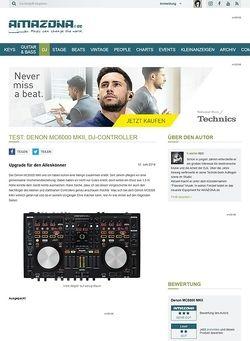 Amazona.de Test: Denon MC6000 MKII, DJ-Controller