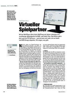 Tastenwelt  MidiTemp MP-S