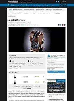 MusicRadar.com AKG K812