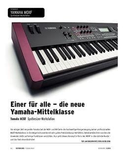 Keyboards Yamaha MOXF - Synthesizer-Workstation