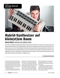 Keyboards Arturia MiniLab - USB-Controller plus Softsynth-Sammlung