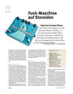 Gitarre & Bass Pigtronix Envelope Phaser, FX-Pedal