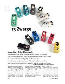 Gitarre & Bass Mooer Micro Series Effektpedale