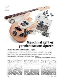 Gitarre & Bass Harley Benton Bass Guitar Kit J-Style