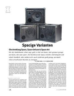 Gitarre & Bass Glockenklang Space, Space Deluxe & Space Art, Bass-Boxen