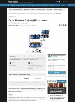 MusicRadar.com Tama Silverstar Cocktail Jam Kits
