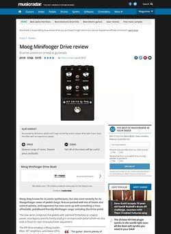 MusicRadar.com Moog Minifooger Drive