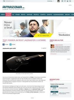 Amazona.de Test: Fender Jim Root Jazzmaster, E-Gitarre