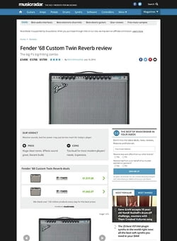 MusicRadar.com Fender '68 Custom Twin Reverb
