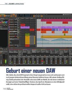 Professional Audio Bitwig Studio