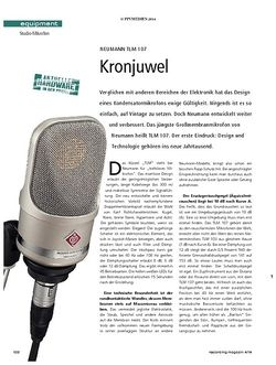 Recording Magazin Neumann TLM107