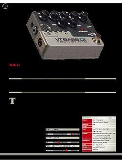 Guitar Tech 21 VT Bass DI