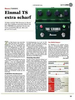 Guitar Ibanez TS808DX