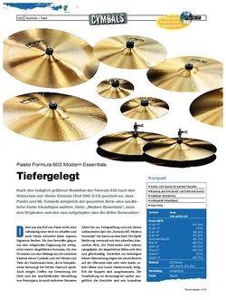Drumheads Test Paiste Formula 602 Modern Essentials