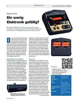 Drumheads Roland TM-2 Trigger Modul