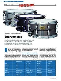 Drumheads Tama S.L.P. Metallsnares
