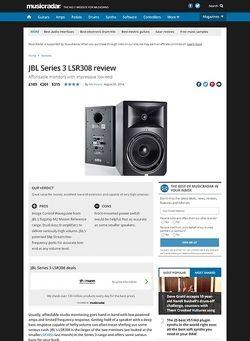 MusicRadar.com JBL  LSR 308