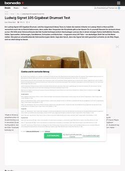 Bonedo.de Ludwig Signet 105 Gigabeat