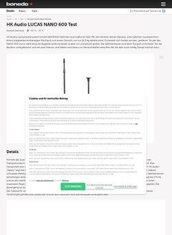 Bonedo.de HK Audio LUCAS NANO 600