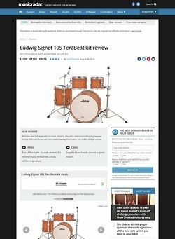 MusicRadar.com Ludwig Signet 105 TeraBeat