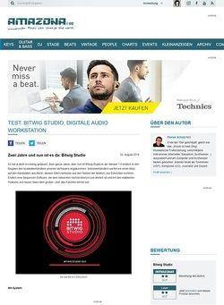 Amazona.de Test: Bitwig Studio, Digitale Audio Workstation