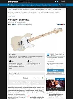 MusicRadar.com Vintage V58 JD