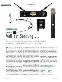 Soundcheck Line 6 XD-V75