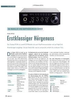 Soundcheck Fostex HP-A4