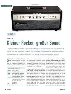 Soundcheck Ampeg V-4B